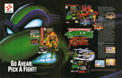 Teenage Mutant Ninja Turtles Tournament Fighters Wikipedia