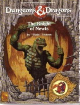 Cover of The Knight of Newts