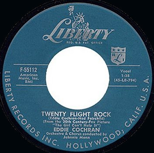 Twenty Flight Rock 1957 single by Eddie Cochran