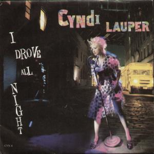 Cyndi Lauper — I Drove All Night (studio acapella)