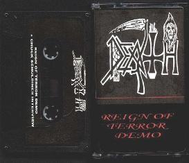 <i>Reign of Terror</i> (demo) album by Death