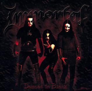 <i>Damned in Black</i> 2000 studio album by Immortal