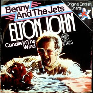 Bennie and the Jets 1974 single by Elton John