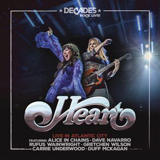 <i>Live in Atlantic City</i> (Heart album) 2019 live album by Heart