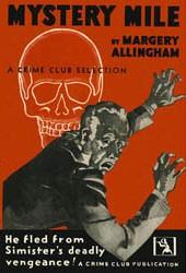 <i>Mystery Mile</i> novel by Margery Allingham