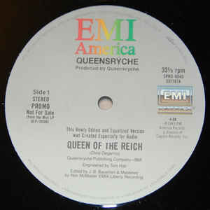 Queen of the Reich song by The Mob, later Queensrÿche