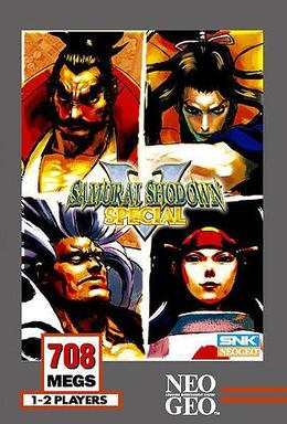 WIP • insert • SS5special unfix US Samurai_Shodown_V_Special_(cover)