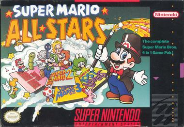 Picture of a game: Super Mario All-Stars