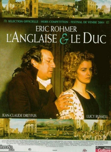 The Lady And The Duke Filmposter