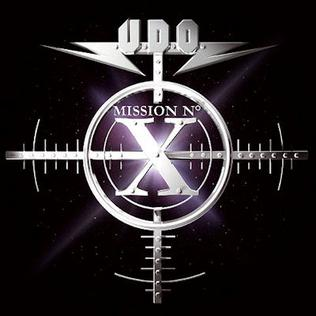 <i>Mission No. X</i> 2005 studio album by U.D.O.