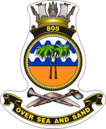 805 Squadron RAN Flying squadron of the British and Australian Fleet Air Arms