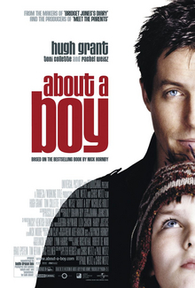about a boy film poster