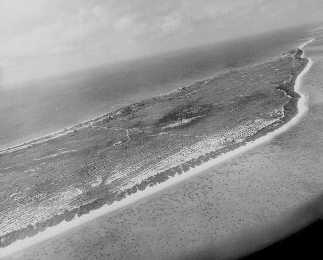 Bikini atoll before