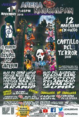 El Castillo Del Terror 2018 Wikipedia