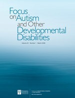 <i>Focus on Autism and Other Developmental Disabilities</i> journal