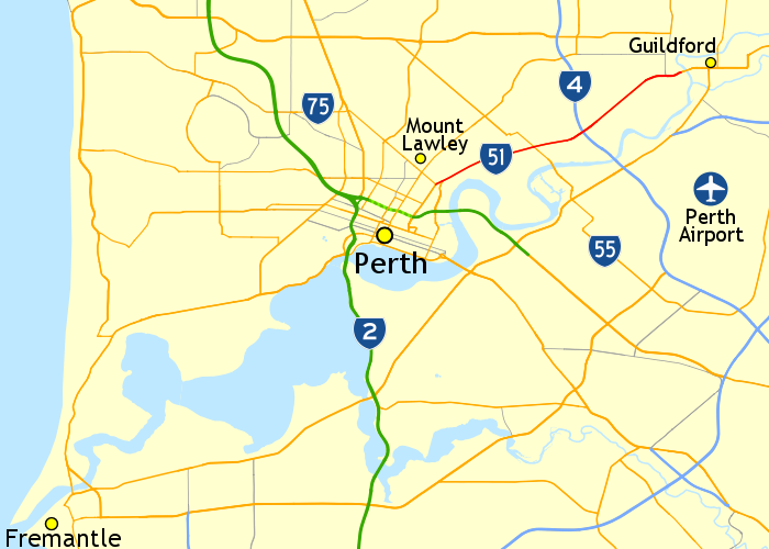 Map Of North West Australia.Guildford Road Wikipedia