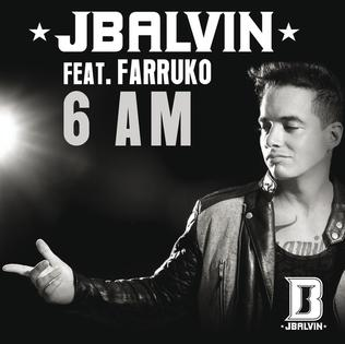 6 AM single by J Balvin