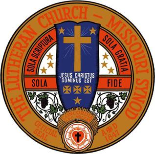 Official seal of the Lutheran Church-Missouri Synod LCMS corporate seal.jpg