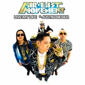 Far East Movement featuring Justin Bieber — Live My Life (studio acapella)
