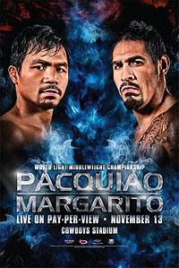 Manny Pacquiao vs. Antonio Margarito Boxing competition