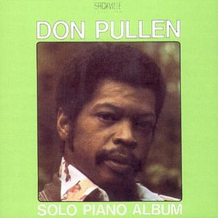 <i>Solo Piano Album</i> 1975 studio album by Don Pullen