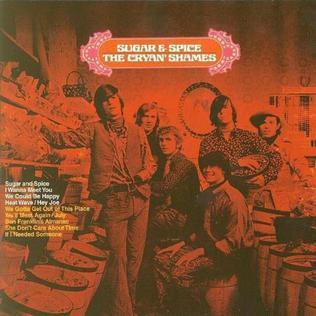 <i>Sugar and Spice</i> (The Cryan Shames album) 1966 studio album by The Cryan Shames