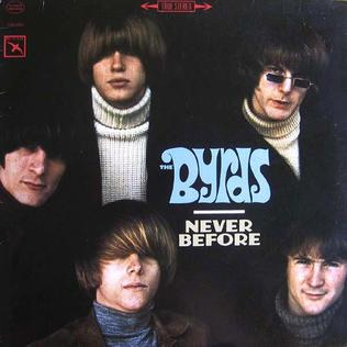 <i>Never Before</i> (album) 1987 compilation album by The Byrds