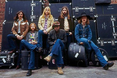 Photo The Allman Brothers Band