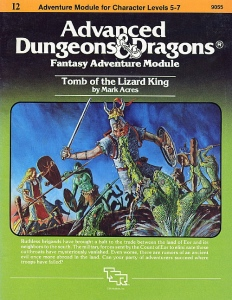 Cover of I2 Tomb of the Lizard King