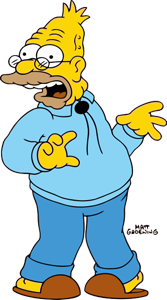 Grampa Simpson fictional character from The Simpsons franchise