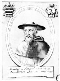 Arnaud de Pellegrue Catholic cardinal