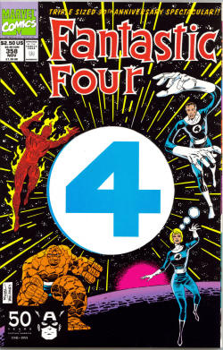 Fantastic Four #358, art by Paul Ryan, © Marve...