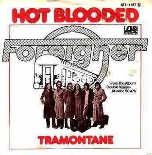 Hot Blooded 1978 single by Foreigner