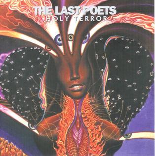 <i>Holy Terror</i> (album) 1995 studio album by The Last Poets