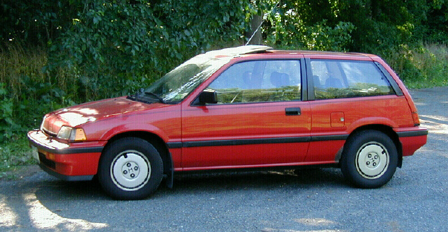 Honda civic third generation wikipedia for Honda civic 1985