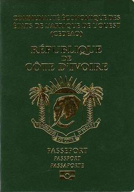 Ivorian passport - Wikipedia