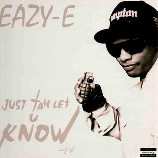 Just tah Let U Know 1995 song performed by Eazy-E