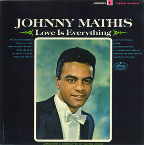 <i>Love Is Everything</i> (Johnny Mathis album) 1965 studio album by Johnny Mathis
