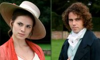 Henry Crawford (portrayed by Joseph Beattie) with his sister, Mary Crawford, in the 2007 ITV television drama Mansfield Park