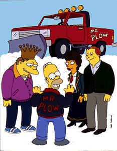 Mr. Plow 9th episode of the fourth season of The Simpsons