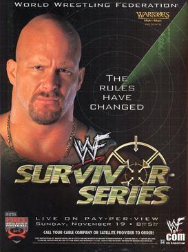 Post image of WWE Survivor Series 2000