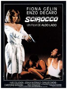 Scirocco (film) movie poster