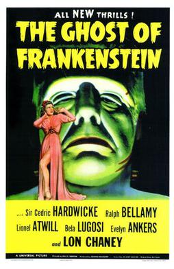 The Ghost of Frankenstein (1942) movie poster