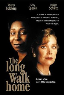 DVD cover for The long walk home.