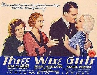 <i>Three Wise Girls</i> 1932 film by William Beaudine