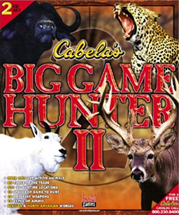 """Cabela's Big Game Hunter II"" Cover Art"