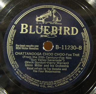 """Chattanooga Choo Choo Original song composed by Harry Warren with lyrics by Mack Gordon; from the 1941 film """"Sun Valley Serenade"""""""