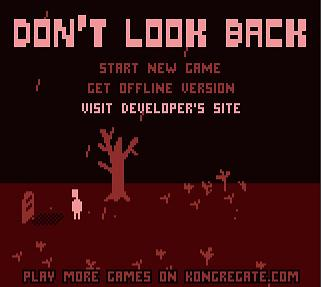 Picture of a game: Don't Look Back