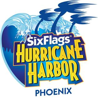 Six Flags Hurricane Harbor Phoenix Water park in Phoenix, Arizona