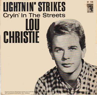 Lou Christie - Rhapsody In The Rain - Trapeze